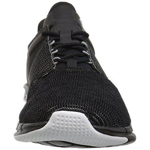 Reebok Women's Fast Flexweave Running Shoe, Black/Coal/Flint Grey/White, 10 M US