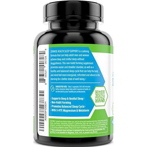 Nighttime Sleep Support Supplement Supplement Zenwise Health