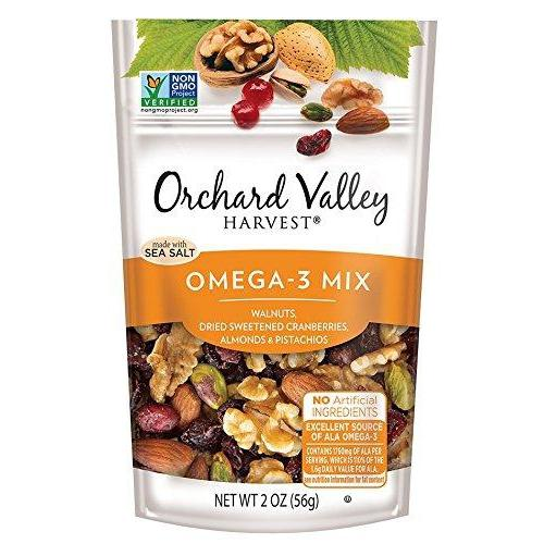 Omega-3 Mix, Non-GMO, No Artificial Ingredients (Pack of 14)