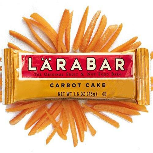 Fruit & Nut Bar, Carrot Cake, Gluten Free, Vegan, Whole 30 Compliant, (16 Count) Food & Drink LÄRABAR