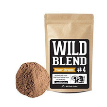 Mushroom Powder Blend #4 | Reishi, Chaga, Cordyceps Supplement Wild Foods