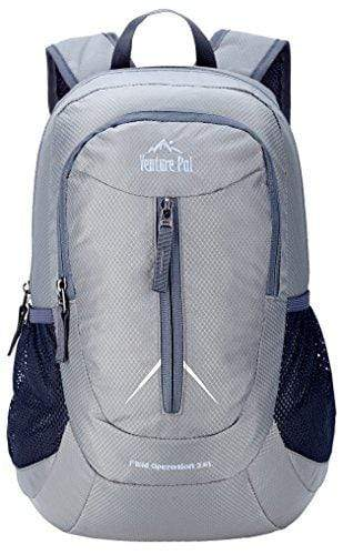 Venture Pal 25L - Durable Packable Lightweight Travel Hiking Backpack Daypack Small Bag for Men Women Kids (Grey)