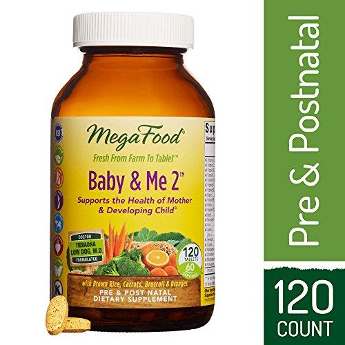 Baby & Me 2, Prenatal and Postnatal Supplement Supplement MegaFood
