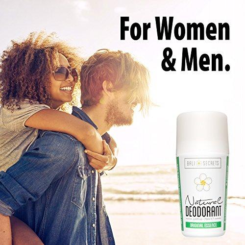 Bali Secrets Natural Deodorant – Organic & Vegan – For Women & Men Beauty & Health Bali Secrets