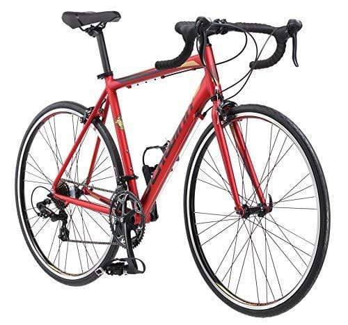 Schwinn Volare 1400 Adult Hybrid Road Bike, 28-inch wheel, aluminum frame, Red Outdoors Schwinn