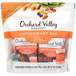 ORCHARD VALLEY HARVEST Antioxidant Mix Multi Pack, 1 oz (Pack of 8)