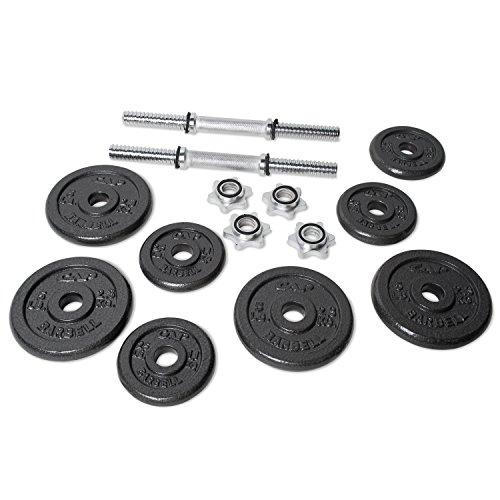 CAP Barbell 40-pound Adjustable Dumbbell Set with Case Sport & Recreation CAP Barbell