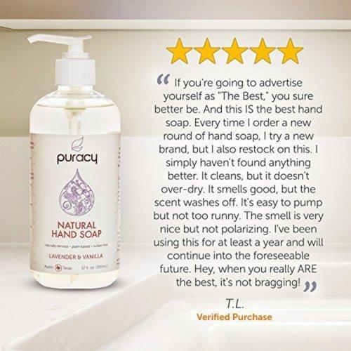 Natural Liquid Hand Soap Beauty & Health Puracy