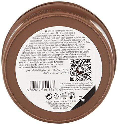 The Body Shop Coconut Body Butter, 13.5 Oz
