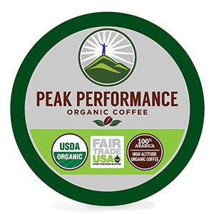 High Altitude Organic Coffee Pods Food & Drink Peak Performance Coffee