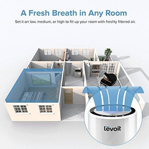 LEVOIT LV-H132 Air Purifier with True Hepa Filter