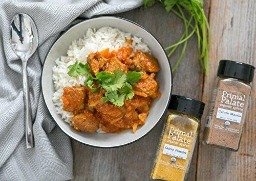 Organic Spices Curry Powder, Certified Organic Food & Drink Primal Palate Organic Spices
