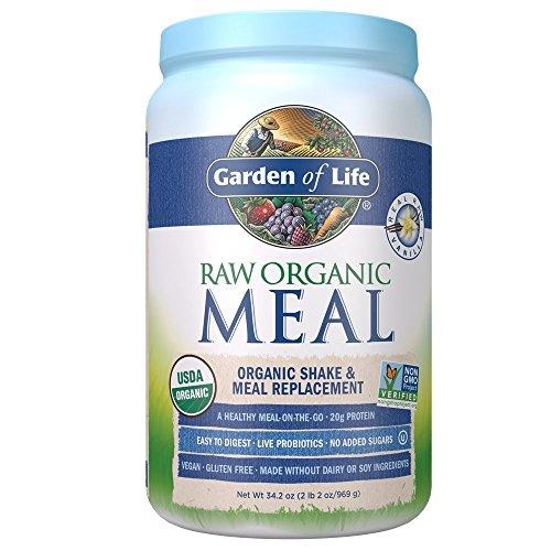 Meal Replacement - Organic Raw Plant Based Protein Powder Supplement Garden of Life