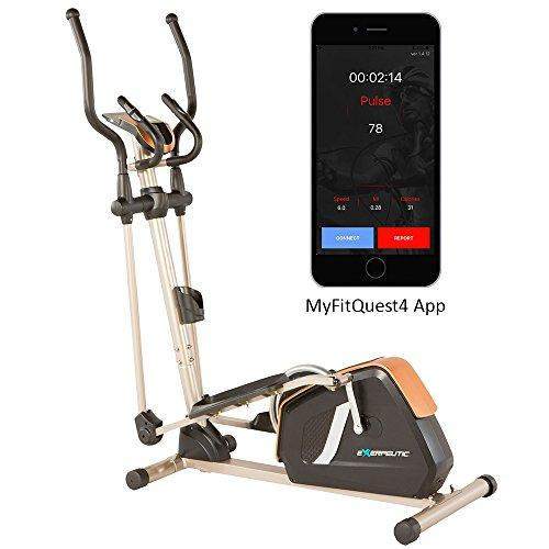 Exerpeutic GOLD 2000XLST Bluetooth Smart Technology Elliptical Trainer with 21 Workout Programs Sport & Recreation Exerpeutic