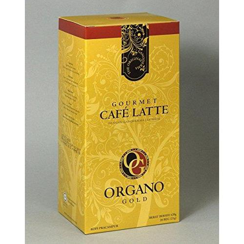 Organo Gold Gourmet Cafe Latte Coffee With Ganoderma Lucidum Food & Drink Organo Gold Coffee