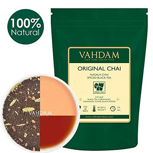 India's Original Masala Chai Tea Loose Leaf –200+cups Food & Drink VAHDAM