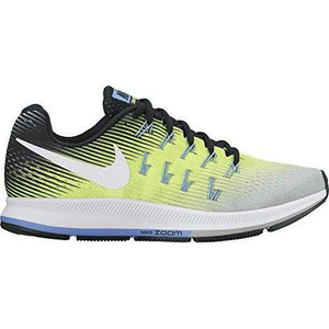 NIKE Women's WMNS Air Zoom Pegasus 33, Matte Silver/White-Volt-Black, 5 M US