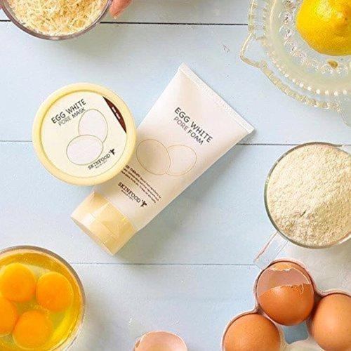 Egg White Pore Foam Beauty & Health SKIN FOOD since 1957