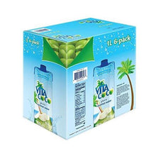 Vita Coco Coconut Water, Pure (Pack of 6)