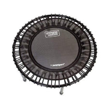 JumpSport 200 | Fitness Trampoline, In-Home Mini Rebounder | Total Body Exercise | Quiet, Safe, Comfortable Bounce | Outstanding Value | Top Rated for Quality & Durability | Music Workout Vid Incl.