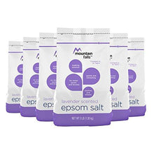 Mountain Falls Epsom Salt, Lavender Scented, Compare to Dr. Teal's, 3 Pound (Pack of 6)