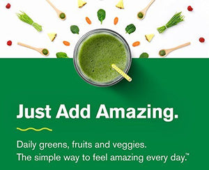 Amazing Grass, Green Superfood Effervescent, Flavor: Berry, 60ct Tablets, with Alkalizing Greens and Antioxidant Blend