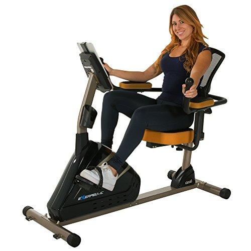 Exerpeutic 4000 Magnetic Recumbent Bike with 12 Workout Programs Sport & Recreation Exerpeutic