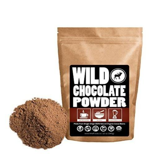 Raw Cocoa Powder Supplement Wild Foods