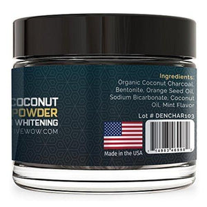 Teeth Whitening Charcoal Powder Natural