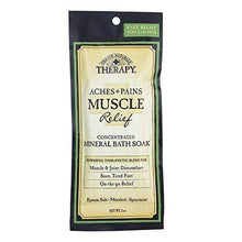Village Naturals Therapy, Mineral Bath Soak, Aches & Pains Muscle Relief, 2 Oz, Pack of 12