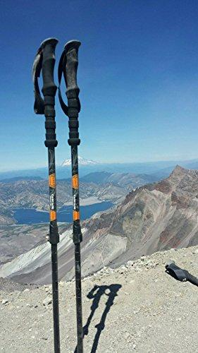 Cascade Mountain Tech Aluminum Collapsible Quick Lock Trekking Poles
