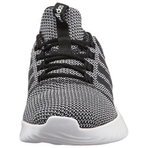 adidas Men's Cloudfoam Ultimate Running Shoe, Black/Black/White, 10 Medium US Shoes for Men adidas