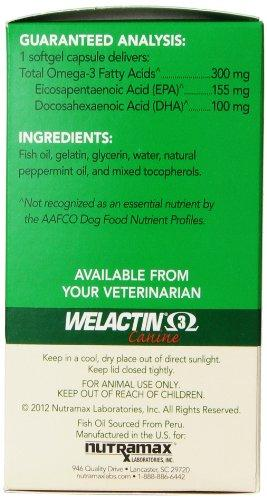 Nutramax Welactin 3 - Canine 120 - Softgel Caps Animal Wellness Nutramax