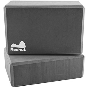"2-PC Yoga Blocks, 9""x6""x3"" - High Density EVA Foam Blocks"