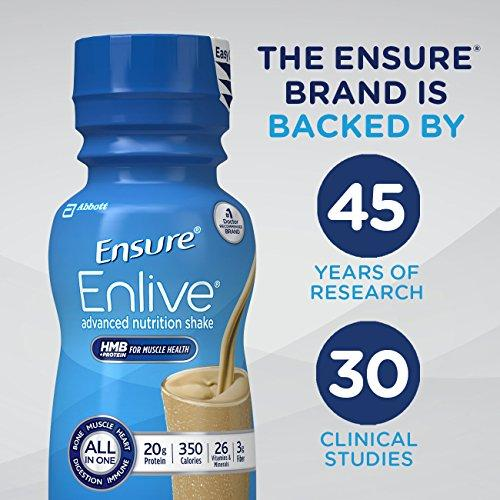 Enlive Advanced Nutrition Shake with 20 grams of protein Supplement Ensure