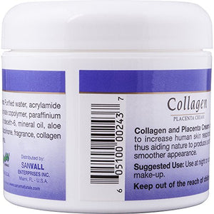 Sanar Naturals Collagen Cream, 4 ounce - Colageno Crema, Anti Wrinkle Facial Moisturizer for Softer Skin