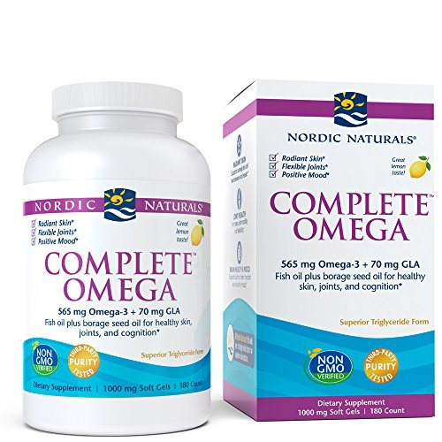 Nordic Naturals - Complete Omega, Supports Healthy Skin, Joints, and Cognition, 180 Soft Gels