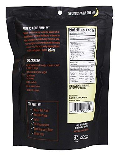 Bare Fruit Chip Banana Cocoa, 2.7 oz Food & Drink Bare Fruit