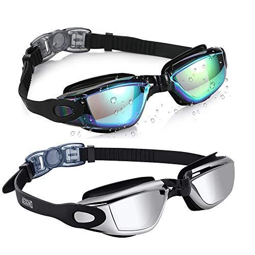 Aegend Swim Goggles 2 Pack Swimming Goggles Swim Goggles Aegend