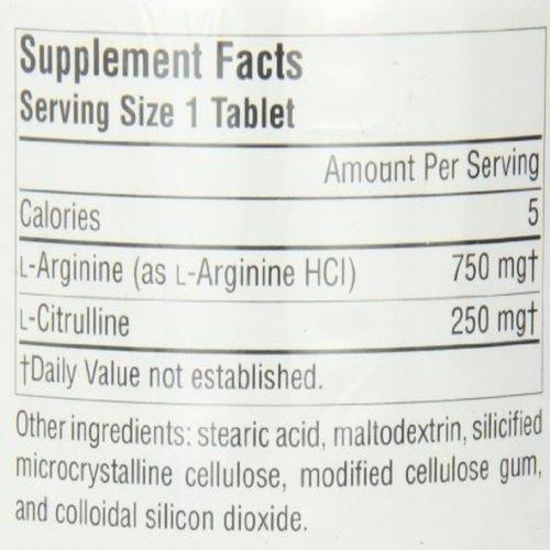 L-Arginine L-Citrulline Amino Acid Complex Supplement Source Naturals