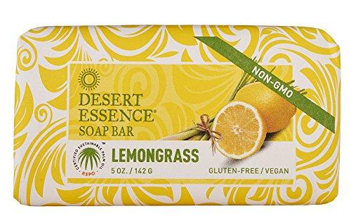 Desert Essence Organic Lemongrass Soap (2pk) 5 Oz