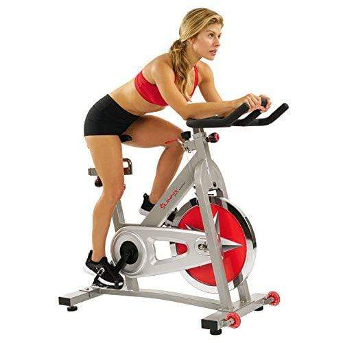 Sunny Health & Fitness Pro Indoor Cycling Bike Sport & Recreation Sunny Health & Fitness
