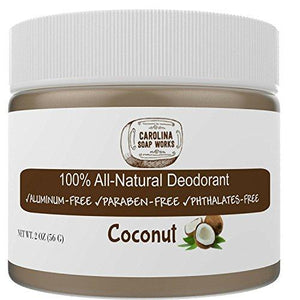 All Natural Coconut Deodorant, by Carolina Soap Works |
