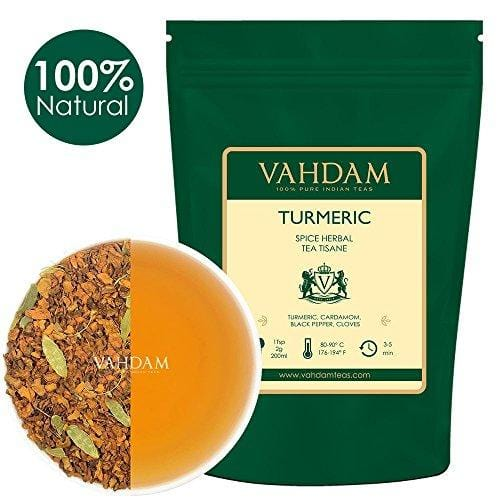 Turmeric Spice Chai Tea (100 Cups) Food & Drink VAHDAM