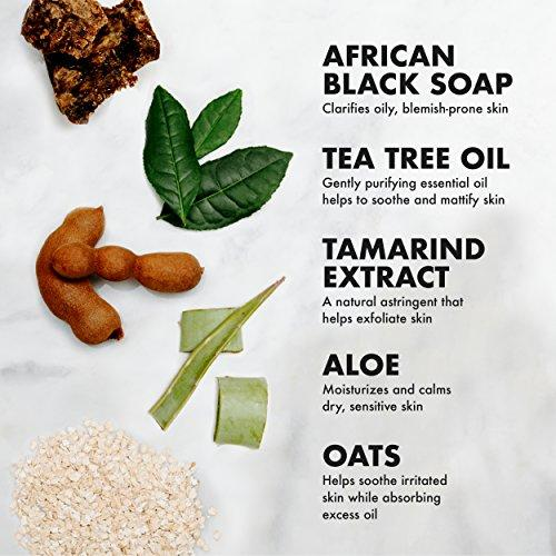 SheaMoistureAfrican Black Soap Hair Care Pack | 13 fl. oz. Deep cleansing Shampoo | 13 fl. Oz. Balancing Conditioner | 4 oz. Purification Masque