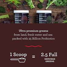 Amazing Grass, Raw Reserve Green Superfood Organic Powder with 25 Billion Probiotics, Wheat Grass and Greens, Flavor: Berry, Box of 15 Individual Servings