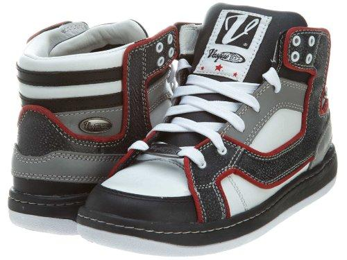 Mens VASQUE Classic Retro II (CRII-200) Hiking Boot, 10 M, White/Black/Red