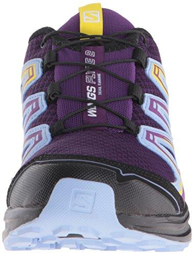 Salomon Women's Wings Flyte 2 Trail Running Shoe, Cosmic Purple/Pale Lilac/Black, 10.5 Medium US