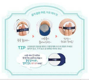 Apieu Air-Fit Cushion SPF50 PA+++ 13.5g - Korea Imported (#23 Natural Color)