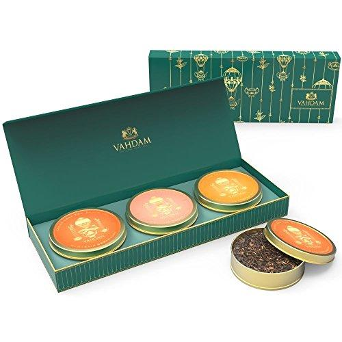 Luxury Tea Gift Box Set - Founder's TRIO Food & Drink VAHDAM